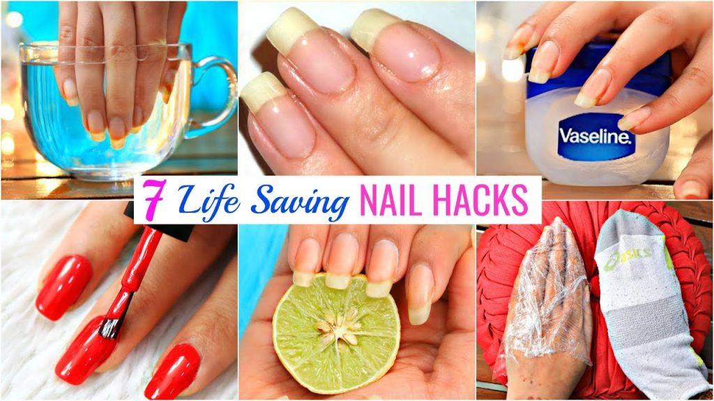 7 Life HACKS To GROW NAILS Fast & Strong